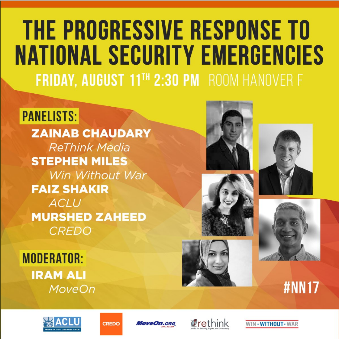 Zainab Netroots Panel - Predictable Emergencies