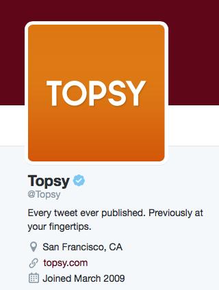 Topsy-Twitter-bio