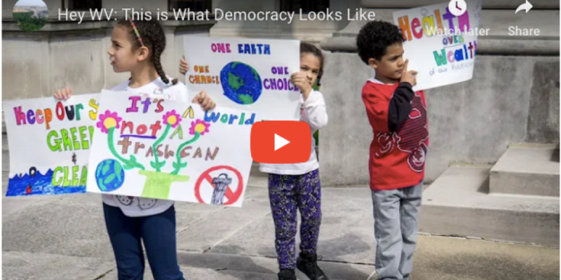 West Virginia Clean Elections Pro-Democracy, Anti-Corruption Act Video