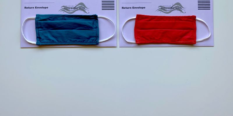 Election Ballots and Face Masks