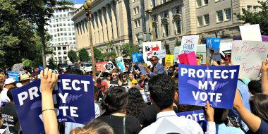 #RespectMyVote Rally
